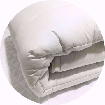Pure Luxury Egyptian Cotton Quilted Mattress Protector