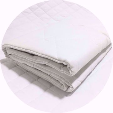 Standard Quilted Pillow Protector