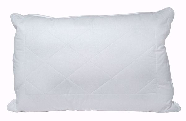 Pure Comfort Quilted Pillow With Wool Lining