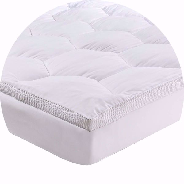 Picture of AirFresh Coolflow Ventilated Microfibre Mattress Topper